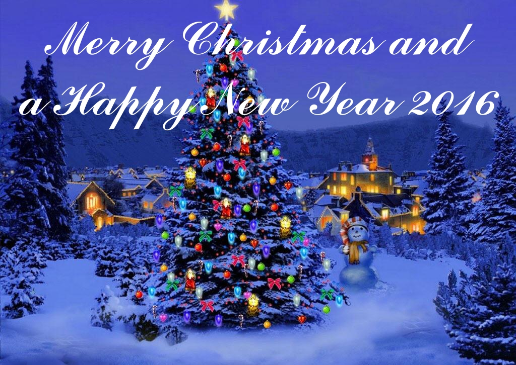 Merry Christmast and a happy new year 2016